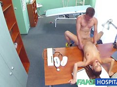 Randy doctor fucks sexy nurse