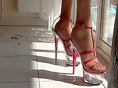 Heels and sun