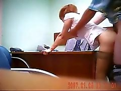 Sex in the office! Hidden cam.