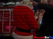 Hooker nailed by santa