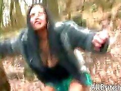 British Indian Girl Dogging