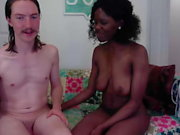 Beautiful Ebony Plays with his Ass then Fucks