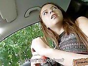 Busty teen Marina Visconti public sex