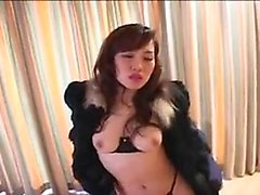 Sexy solo girl loving masturbation with toys
