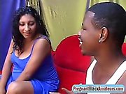 Wow, Brazilian pregnant slut is so horny