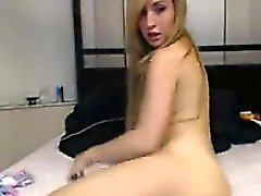 Busty Beauty Teasing Her Pussy