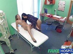Racy nurse seduces patient