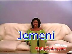 jemeni loves it Anal Black and Ebony