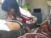 Amateur Asian Teen Couple bj