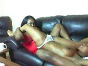 BBW Lesbian Ebony Sex