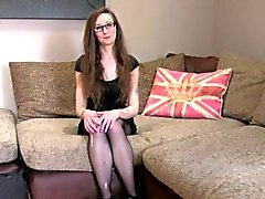 Fake agent bangs Brit babe in pantyhose