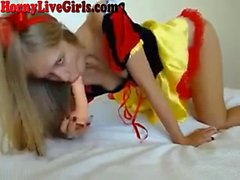 Cosplay Webcam Girl Blowjob