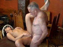 Amateur daddy anal sex and old man creampie hd first time