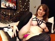 Jacqueline Lovell lengthy solo masturbation with toys