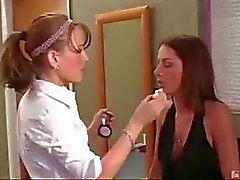 Lisa Seduce Samantha Wynter.the makeup girl.