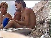 Nude beach fun