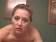 Sexy roughtalking cougar smoking sex