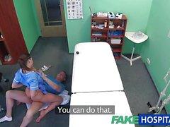 Nurse fucked by horny doctor