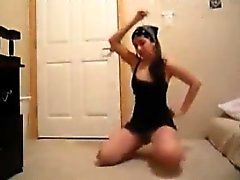 Hot Twerking And Stripping On Webcam