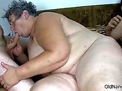 Nasty mature bitch goes crazy sucking