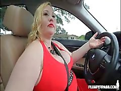 Bbw milf Sienna Hills cruises hood for some boner.