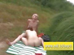 Public sex scenes from the Nude Beach