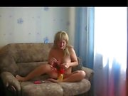 Me Ilona playing with my pussy and panties