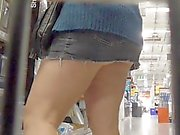 DIY shop upskirt panties 2