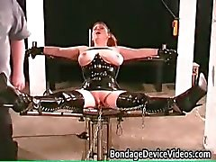Kinky MILF gets tied and cunt inspected part5