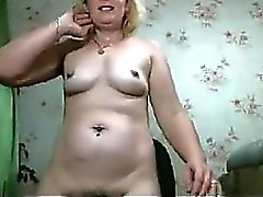 Mature Martha And Her Hairy Wet Pussy