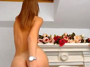 Perfect Petite Blonde Gets Naked On Webcam