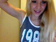 slut sweetandwildmeg flashing boobs on live webcam