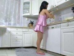 pregnant fuck in the kitchen