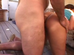 Amateur homemade hardcore anal threesome