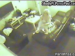 Security camera film blond