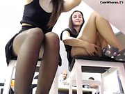 amateur lesbian pov mutual masturbation with vibrators
