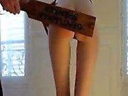 spanking Leggy French Teen Sub Milou