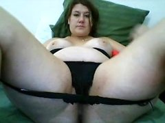 Mature BBW Toys With Her Pussy
