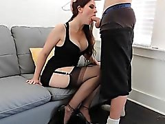 Very Incredible Blowjob From A Very Pretty Lady