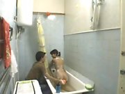 Brunette Fucked In Shower And Caught On Spy Cam