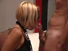 Spouse Fooled and Blindfolded to Fuck with Partners Friend