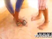High as fuck black girl ass twerking Toticos dominican