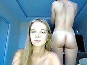 2 Perfect Teens Showing Off Perfect Bodies On Webcam