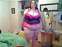 Lard Heap Should Be Cleaning Up Her Fucking Room Before Dancing