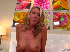 LEAKED Milf does Porn on MomPov to get back at Husband