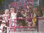 upskirt panty flashing college party girls on spring break