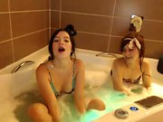 Voyeur Lesbian Teen Shower