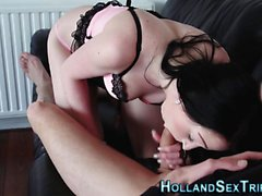 Jizz sprayed dutch whore