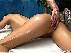 Hot and sexy brunette 18 year old Anna gets fucked hard by