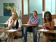 kagney wants to try italian thick cock, teacher tony bangs her on desk!